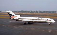 Delta Airlines 727-200 1978