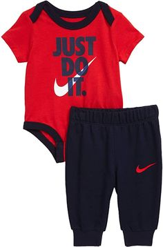 Baby Boy Clothes Nike, Luxury Baby Clothes, Cute Baby Clothes, Baby Boy Outfits, Sporty Outfits, Nike Outfits, Cute Kids Fashion, Gym Shorts Womens, Bodysuit