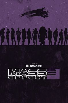 """Mass Effect 2"" poster © by Bill Pyle (WilliamHenryDesign @ etsy.com) (© 2011)"
