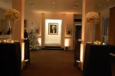 The Foyer Bar - Gold lighting and Christmas tree