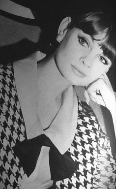 Jean Shrimpton em Glamour setembro 1963 fotografado por David Bailey (Graças a Jane Davis)