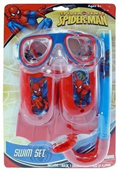 Play Swim Set - Marvel - Spider-man - on Blister Card 3 pc Kids Water Slide, Frozen Cupcake Toppers, Chocolate Candy Brands, Spiderman Invitation, Army Men Toys, Toy Rocket, Bubble Gum Machine, Baby Girl Dress Design, Frozen Kids