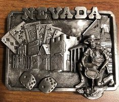 Up for your consideration is a belt buckle. The belt buckle is in very good to like new condition. We will get back to you ASAP. Belt Buckles, Nevada, Oregon, Consideration, Link, Pattern, Clothing, Vintage, Accessories