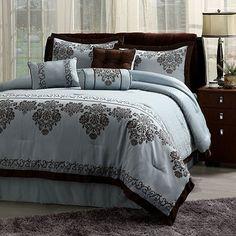 Central Park Fontain 7-pc. Comforter Set