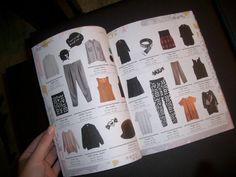 Laura: Modekataloge oder Magazine find ich super! Einfach bisschen auf der Couch blättern und sich Anregungen holen!