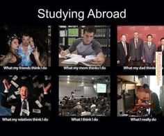 Funny memes Student life abroad...