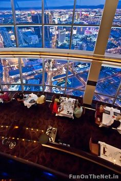 Top of the World, revolving restaurant on top of Stratosphere