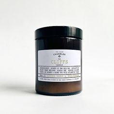 Delightfully scented soy candles. The Cliffs Candle is inspired by The Cliffs of Moher and made in Ireland by Irish Candlemakers.