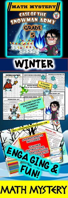 3rd Grade Halloween Activity, Halloween Math Mystery Review ...