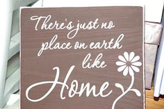 Natalie's Creations: There's just no place on earth like home - vinyl quote on wood using SCAL and cricut. Tile Projects, Vinyl Projects, Ceramic Tile Art, Crafts To Make, Diy Crafts, Vinyl Quotes, Silhouette Projects, Silhouette Cameo, Cricut Creations