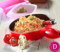 Ντοματόρυζο σκορδάτο | Dina Nikolaou