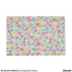 An Artist's Palette Placemat