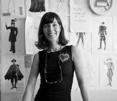 Liz Vandal born 1965 Montreal Canada. Costume designer. Known for her costumes for the Cirque du Soleil show, OVO.