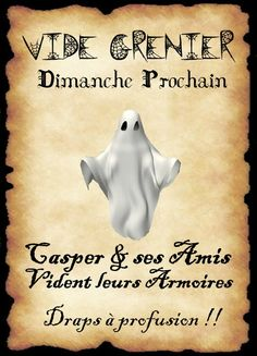 affiche fantome Halloween Diy, Happy Halloween, Halloween Decorations, Harry Potter Theme, Harry Potter Diy, Humour Disney, Grimoire Book, Anime Expo, Animales
