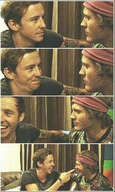 danny jones and dougie poynter, mcfly, pones