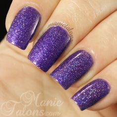 Girly Bits Lacquer No Such Thing as a Purple Problem  http://www.girlybitscosmetics.com/no-such-thing-as-a-purple-problem/ $11.50 CAD