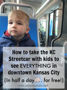 Seeing all of downtown Kansas City used to be a bit of a challenge. Now, it's super easy (and economical!) to take the KC streetcar with kids to literally see EVERYTHING there is to see in downtown KC. Summer Travel, Travel With Kids, Summer Fun, Fort Leavenworth, Kansas City Missouri, Education Humor, North Dakota, Nebraska, Illinois