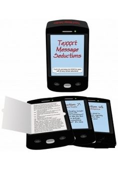 TeXXXt Message Seductions  Every other week, select one of the cellphone-shaped game cards based on it's seduction description. Tear open the screen on the card to reveal a text script you send to your lover throughout the day to seduce him or her for sex that night.  Whatever mood you're in, there is a wide variety to choose from! To buy,Click: http://itsmuahlife.com/foreplay/games/texxxt-message-seductions.html For other premium products, visit: www.itsmuahlife.com