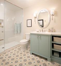 A Designer's Dream Home traditional-bathroom
