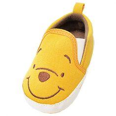 Pooh Shoe... Ann Marie's children will wear these.
