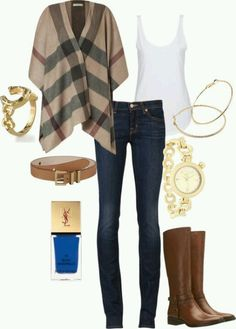 Like the outfit minus the accessories