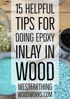 These are the best tips for doing epoxy inlay, and they will help you create som. - Woodworking Tips - These are the best tips for doing epoxy inlay, and they will help you create some of the best looki - Awesome Woodworking Ideas, Woodworking For Kids, Woodworking Joints, Woodworking Workbench, Woodworking Workshop, Woodworking Techniques, Woodworking Furniture, Woodworking Shop, Woodworking Projects