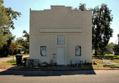 Meldrim GA Old Grocery Store Granitoid Front Effingham County Picture Photo Image Copyright Brian Brown Vanishing South Georgia USA 2011