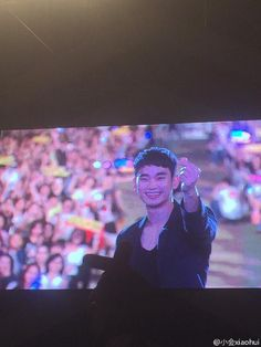 awesome Kim Soo Hyun - Today was held in Busan Lotte Family Concert.  Preview of fansites cr: Homi1228