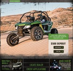 Arctic Cat Wildcat - A ride you can't imagine until you sit in the cockpit and have a ball driving it.