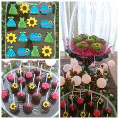 Frozen fever... Cookies, cupcakes y cake pops