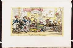 1 January 1814.Bodleian Libraries, The infant Richard.Satire on Napoleon's exile to Elba. (British political cartoon)