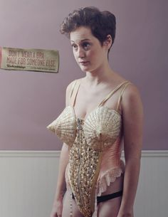 UNDERPINNINGS : CUSTOM MADE INTIMATE APPAREL by DAVE TUPPER, via Behance