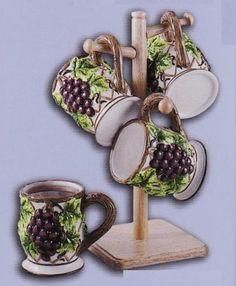GRAPE 3-D Mug Set of Mugs *NEW!* KMC Corp http://www.amazon.com/dp/B0027UPO84/ref=cm_sw_r_pi_dp_a4EWtb1P5D6S36WW