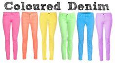 i love colored denims! :)
