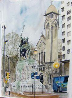 Montevideo, Monumento al Gaucho