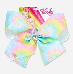 JoJo Siwa Large Tie Dye Hair Bow [Justice Exclusive]