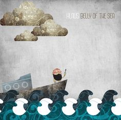 Klaus - Belly of The Sea EP by Nick Paul, via Behance
