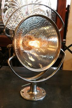 Stainless Steel Surgical Light - Vintage Medical Lighting  by Old Portland Hardware and Architectural - Architectural Salvage in Portland, Oregon.   $875.00