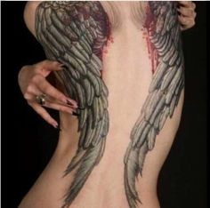 Bleeding wings...