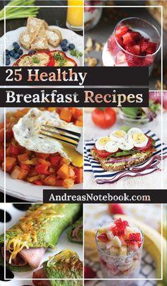 25 healthy breakfast recipes