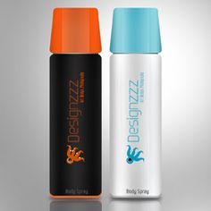Industrial Design: Creating a Bottle for Beverage/Deodorant in Photoshop