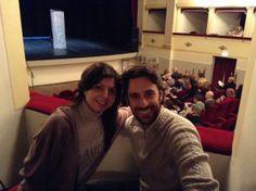 """#parlailubblico #TeatriDICivitanova """"Amiamo il teatro e ci piace fare lo stesso""""viaggio""""nel testo secondo le scelte del regista e partecipare con lui alle emozioni che ne derivano."""" 14 marzo 2014"""