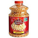 Orville Redenbacher's Gourmet Popcorn Kernels, Original Yellow, 30 oz Each (Pack of 6)