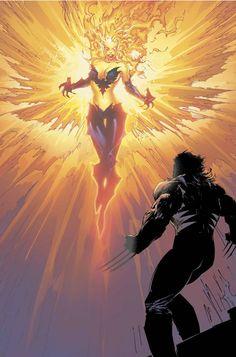 Wolverine  Dark Phoenix by Marc Silvestri