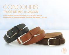 concours inside laiglon : gagnez une ceinture en cuir/