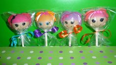 6 Doll Cake Pops  Great for little girls by RendezvousSweets, $24.00