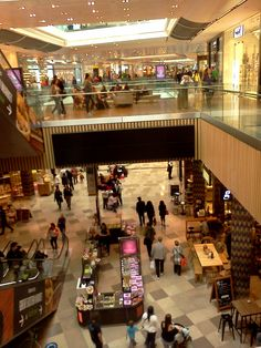 Westfield Shopping Mall Stratford City