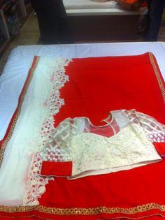 Georgette fancy sari paired with Designer Semistitched Blouse| Buy Online Sarees | Elegant Fashion Wear Price;4999 #latest #gorgette #saree #designer #blouse