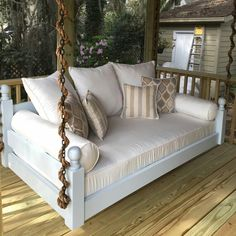 44 Amazing Rustic Porch Swing Design Ideas - Porch swings are a fabulous edition to any home and any porch. Porch swings are a wonderful way to kick back and relax at any time, especially after a. Home Furniture, Outdoor Furniture, Antique Furniture, Rustic Furniture, Furniture Chairs, Furniture Storage, Furniture Layout, Furniture Plans, Furniture Design
