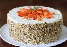 The Galley Gourmet: Carrot Cake with Cream Cheese Frosting